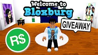 ROBUX GIVEAWAY! AND ROBLOXIAN BUCKS GIVEAWAY! PLAYING BLOXBURG WITH FANS | ROBLOX
