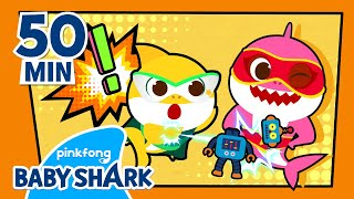 ????Here Comes the Superhero Baby Shark!  | +Compilation | Song for Kids | Baby Shark Official