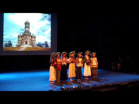 Oslo International Culture Evening 2014_Russia Song and Flute