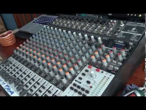 Audio Mixer Opening and Cleaning