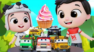 Kids Dance Songs   Fire Truck   Garbage Truck   ABC Song   Wheels On The Bus #appMink Kids Song