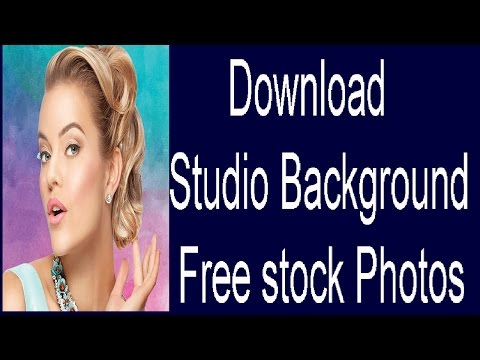 How to Download Studio Background Free Stock Photos ( in Tamil )