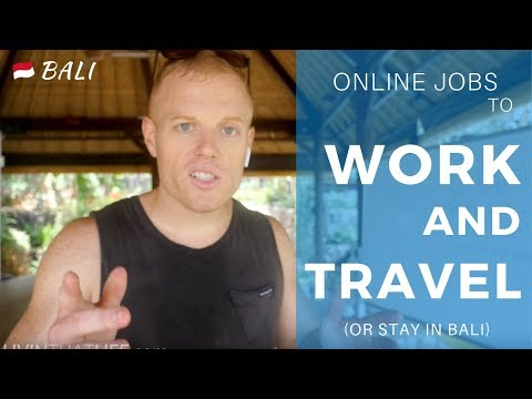 What Remote Jobs Can I Do to Work Online & Travel? ✈️ (or Stay in Bali)
