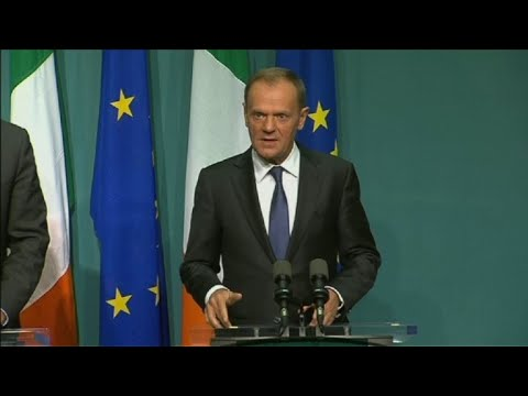 EU will not accept UK Brexit offer if Ireland disagrees: Tusk