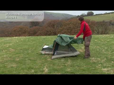 144 & Pitching Mountain Hardwear Sprite 1 Tent - YouTube