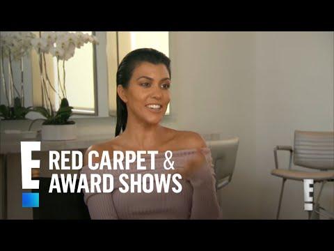Kourtney Kardashian's Beauty Secret Revealed | E! Live from the Red Carpet