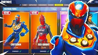 RED KNIGHT BACK BLING RETURNS! - RED KNIGHT &  NEW CRITlERION Gameplay in Fortnite: Battle Royale!