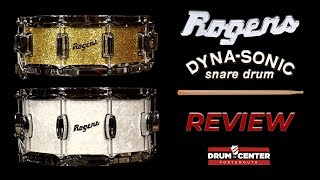 Rogers Dyna-Sonic Snare Drum Review