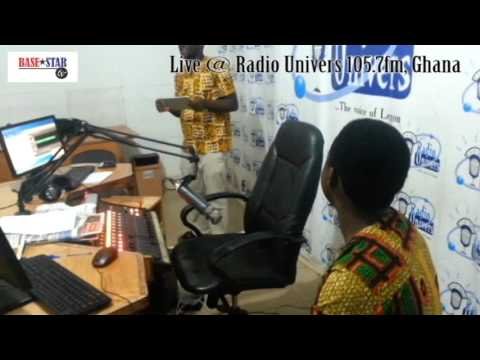 live african music @ Radio Univers studio. powered by Basestar Tv