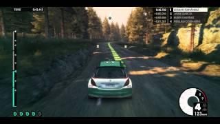 Dirt3 Ultra gameplay gtx 560 Ti, 45-50fps.