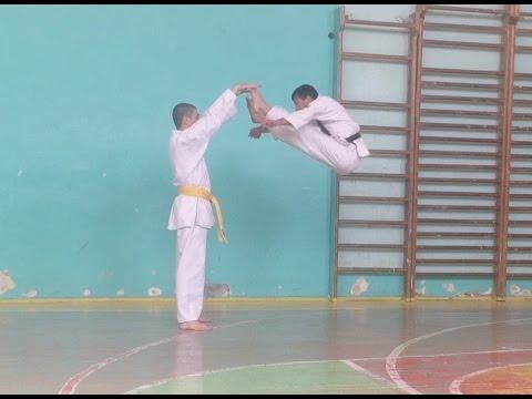 Tricks - Трюки - Karate  Sash Nalbandyan  Sensey. Armen Aloyan