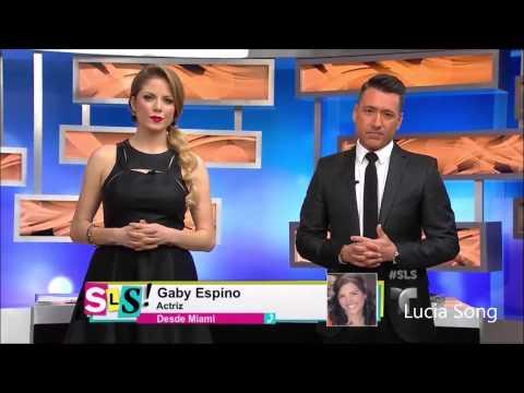 Gaby Espino habla sobre muerte de actríz Mónica Spear