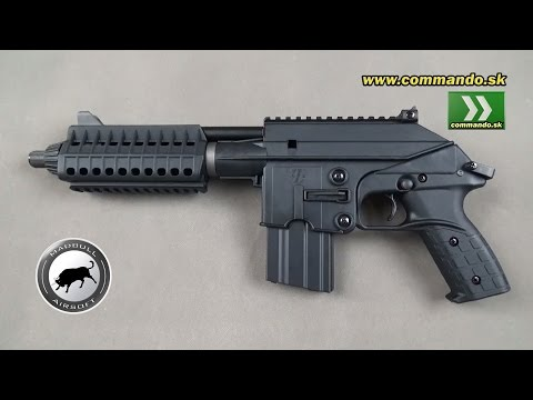 Airsoft Mad Bull PLR-16 Kel Tec GBB 6mm