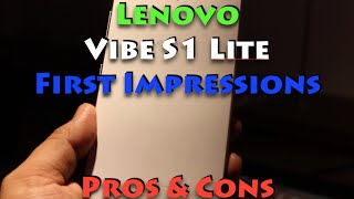ces 2016 lenovo vibe s1 lite hands on review camera and features
