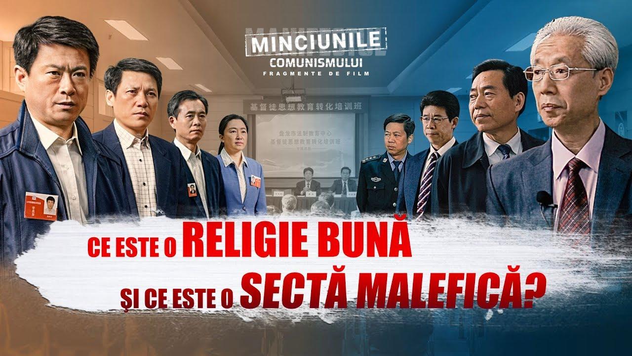 """Film creștin """"Minciunile Comunismului"""" Segment 3-Ce este o religie bună şi ce este o sectă malefică?"""