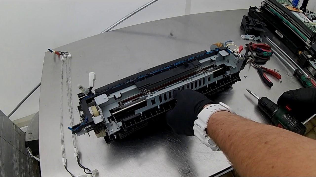 FUSER XEROX WorkCentre tutorial repairs