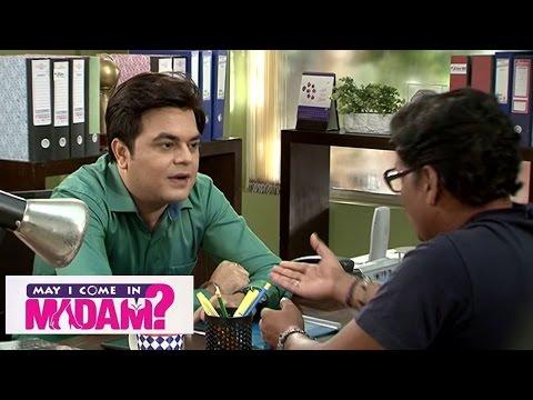May I Come In Madam | Sajan Takes Cheda's Help To Hypnotize Sanjana thumbnail