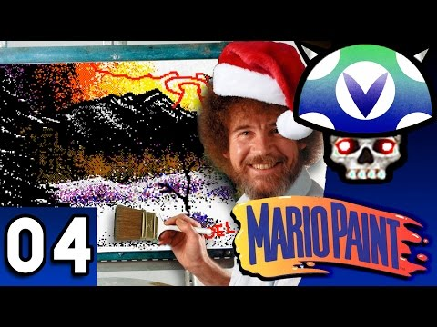 [Vinesauce] Joel - Bob Ross Mario Paint ( Part 4 )