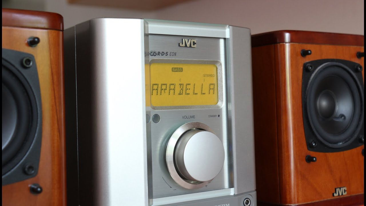 Jvc Ux 2000r Micro Musik System Youtube