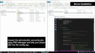 Arma 3 -  AdminToolkit v2.0 Installation (ExileMod Edition)