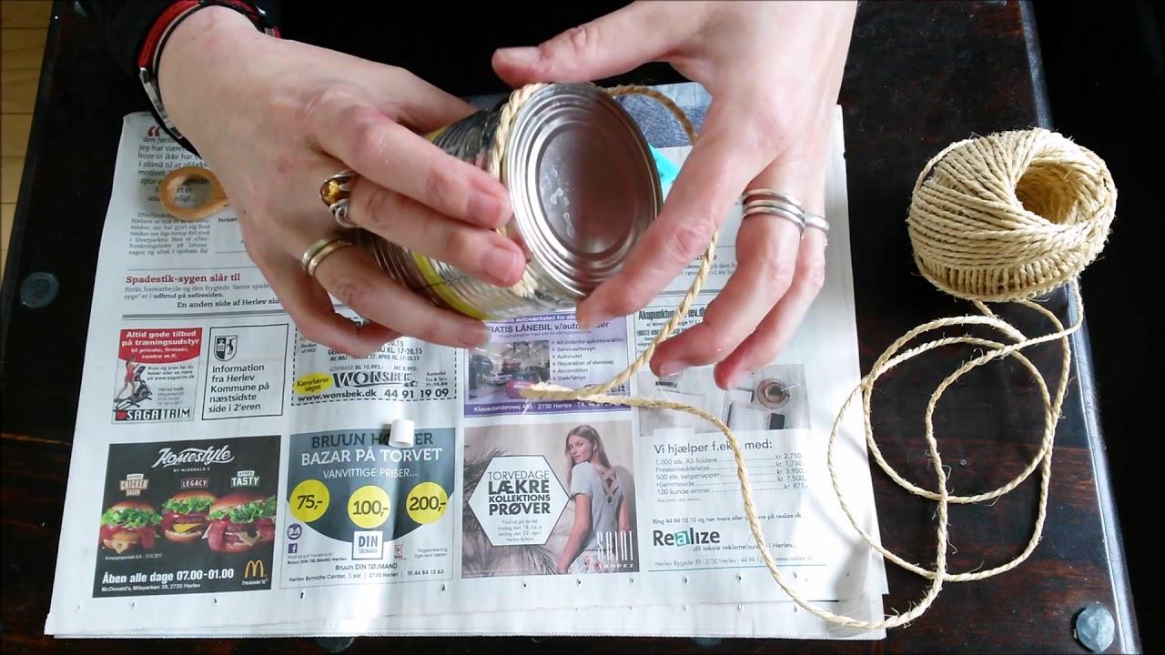 Lav sjove ting med genbrug, DIY for børn,  Med musen Metermål