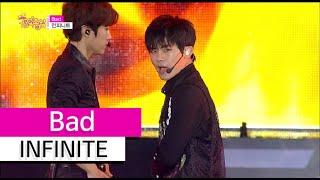 [HOT] INFINITE - Bad, 인피니트 - 베드, Show Music core 20150801