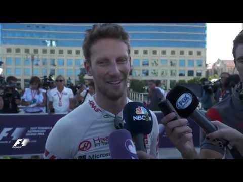 2017 Azerbaijan Grand Prix   Qualifying Reaction