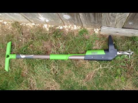 HOW TO PULL WEEDS WITH THE AMES STAND UP WEEDER