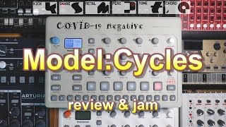 Elektron Model:Cycles - upgrade from volca drum? (review & jam)