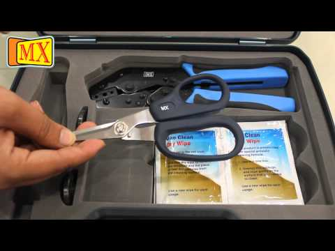 What is a Fiber Optic Cable Tool Kit -- Type 1
