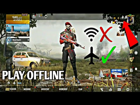How To Play Pubg Mobile And Other Online Games Offline.😱 New Working Trick With Live Proof!!!