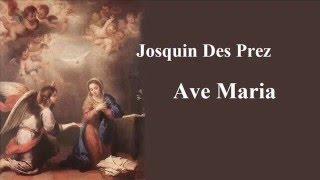 ジョスカン デ プレ アヴェ マリア ヒリヤード アンサンブルjosquin des prez ave maria
