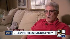 J. Levine files bankruptcy leaving Valley residents sending us complaints
