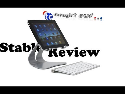 BEST iPad 3 & 2 Tablet Metal Stand ThoughtOut Stabile Review