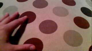 ASMR Visual Sounds : Whispering, Soft Scratching a Pillow, Tracing Circles