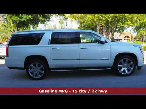 Used 2016 Cadillac Escalade ESV Miami Fort Lauderdale, FL #BR2620 - SOLD