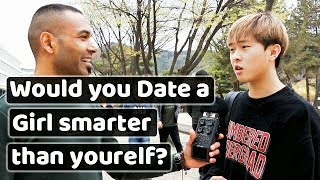 Smart Guys on Dating Smarter girls. 남친보다 똑똑한 여친.