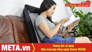 Hướng dẫn sử dụng đệm massage hồng ngoại Beurer MG206