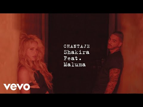 download letra lyric Descargar - Shakira ft Maluma - Chantaje - Video Oficial mp4 hd