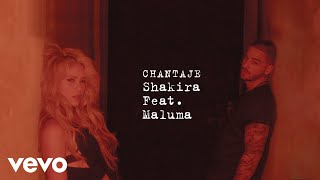 Shakira Chantaje Audio Ft Maluma