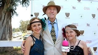 Ed Lauter Oscar Winning THE ARTIST interview at The Celebrity Cup Polo Match