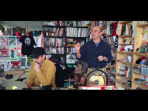 Peter Sagal Invades The Tiny Desk