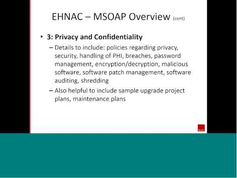 Insights Webinar - Electronic Healthcare Network Accreditation Commission (EHNAC)