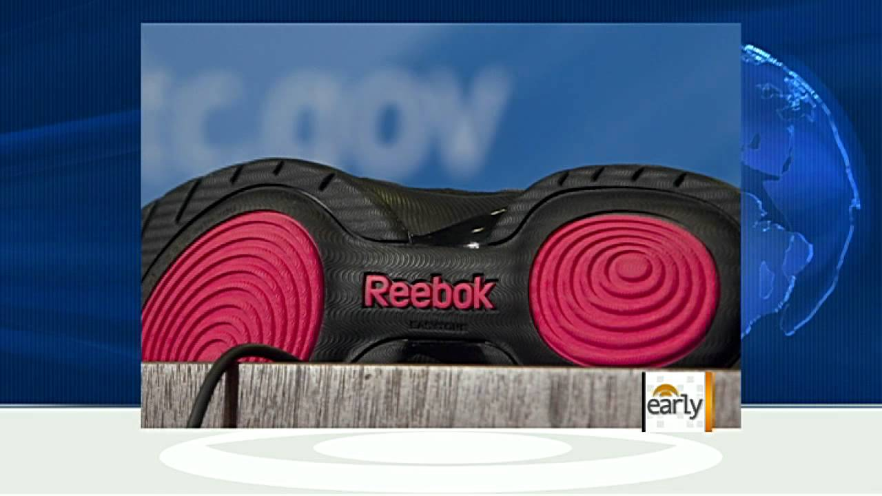 40a2d77f9e6 The Early Show - Reebok settles suit over butt-shaping shoes - YouTube
