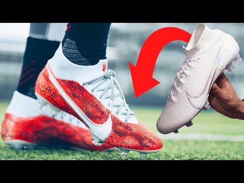 How To Custom SNAKE-PRINT YOUR CLEATS
