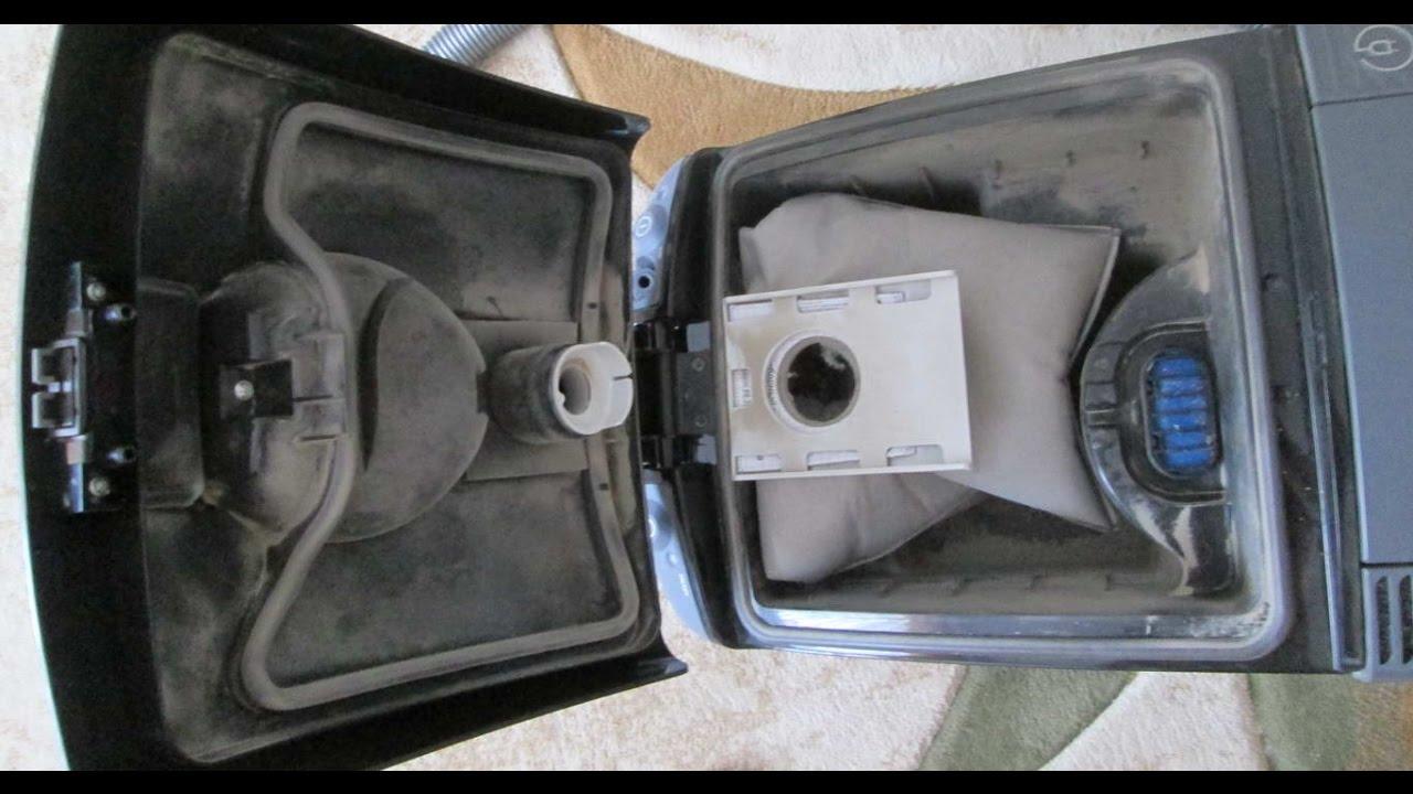 Влажная уборка пылесосом Thomas c системой Aqua-Box - YouTube