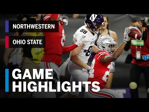 Highlights: 2018 Big Ten Football Championship | Northwestern Wildcats vs. Ohio State Buckeyes