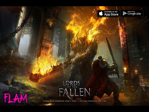Lords Of The Fallen Mobile Trailer - Hardcore RPG Android/iOS