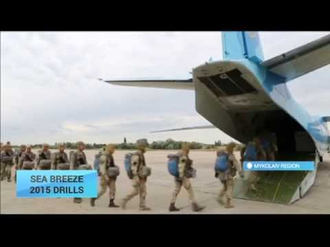 Sea Breeze 2015: Ukrainian And US Soldiers Carry Out Manoeuvers In Mykolaiv Region