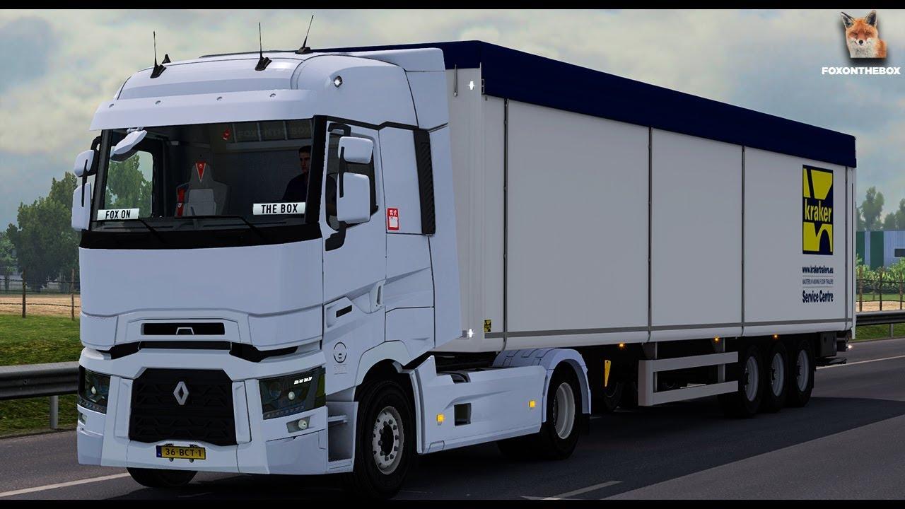 download euro truck simulator 2018 mod